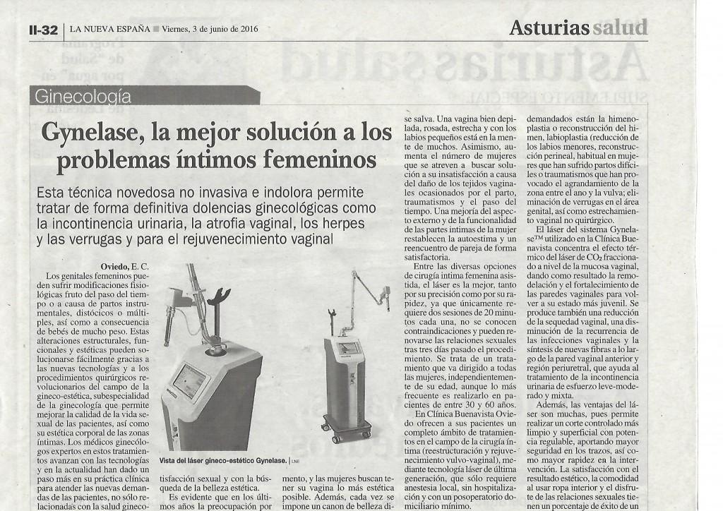 reportaje Gynelase Clinica Buenavista